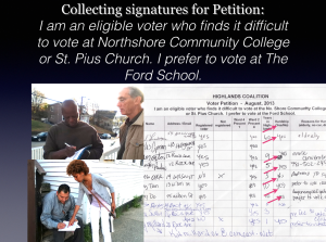 Collecting signatures